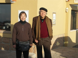 2005年、ポルトガル・ロカ岬にて