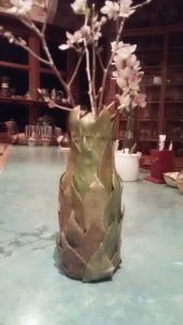 つばき花瓶1